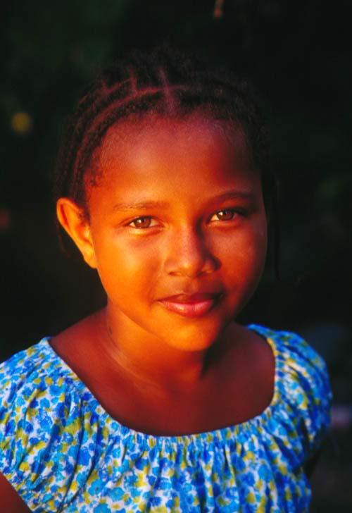 Brown Eyed Jamacain Girl