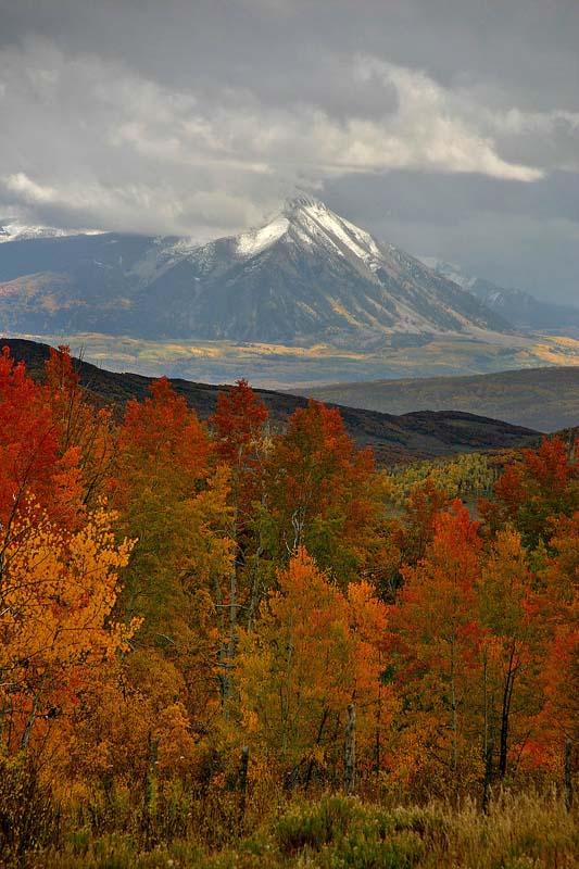 Fall & Peak near Paonia, CO