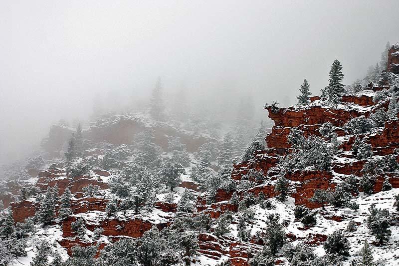 Red Rocks Winter 2