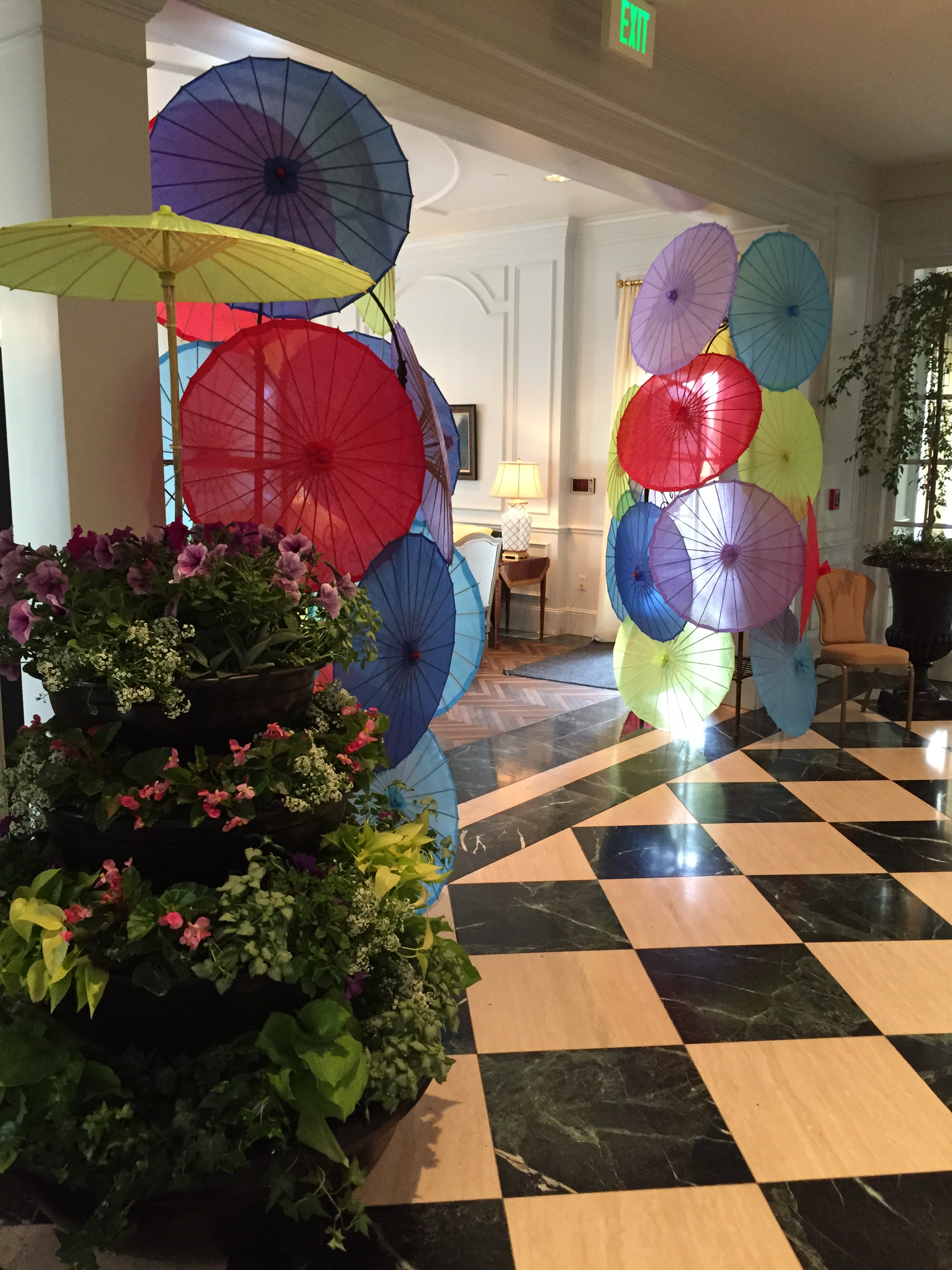 April Showers theme at The Women's Council of Novant Health Foundation Forsyth Medical Center Garden Party
