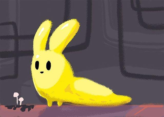 Banana Slugcat #rainworld