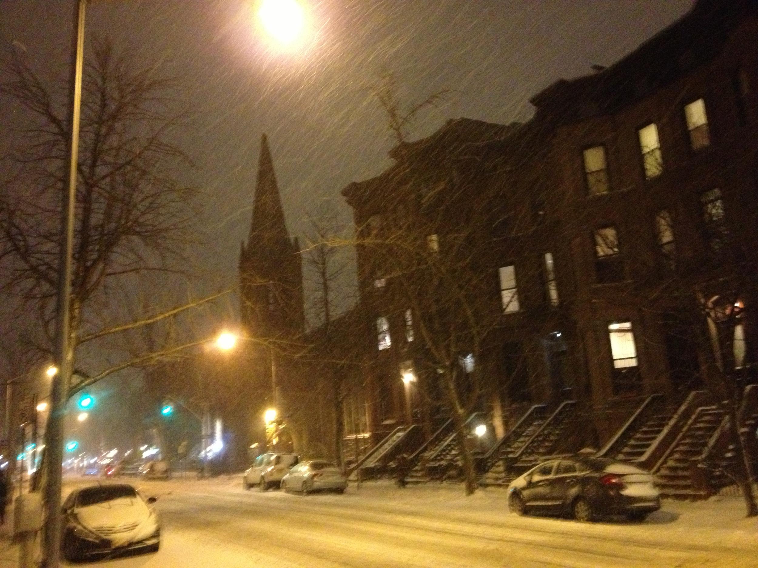 Ahhh, home. Good ol' Park Slope.