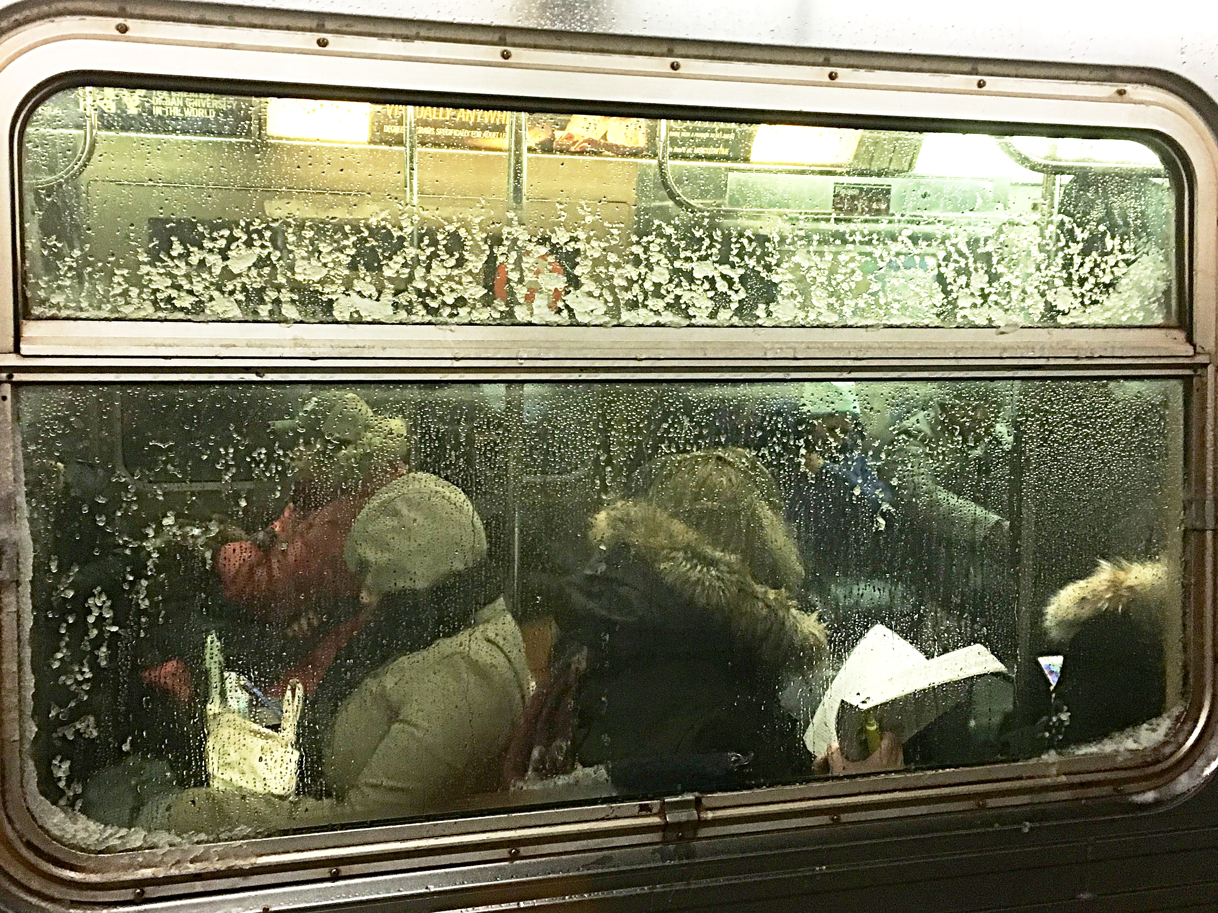 Q train to Manhattan.