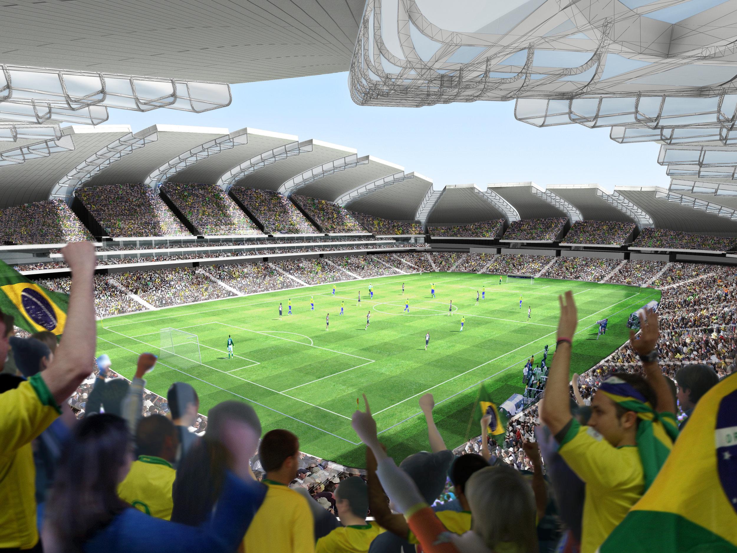 World Cup Football Stadium