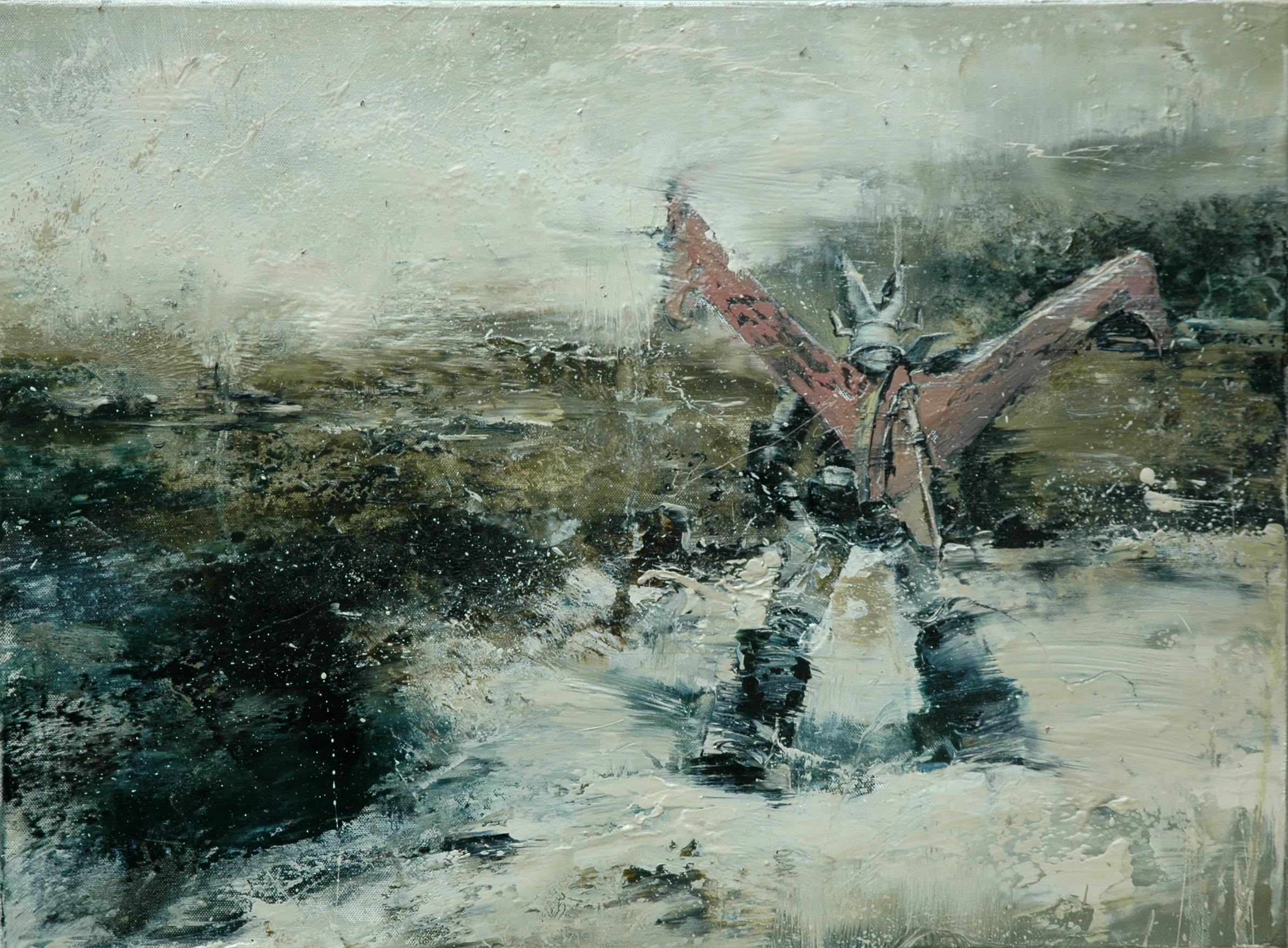 Exile 2014, 42 x 57 cm