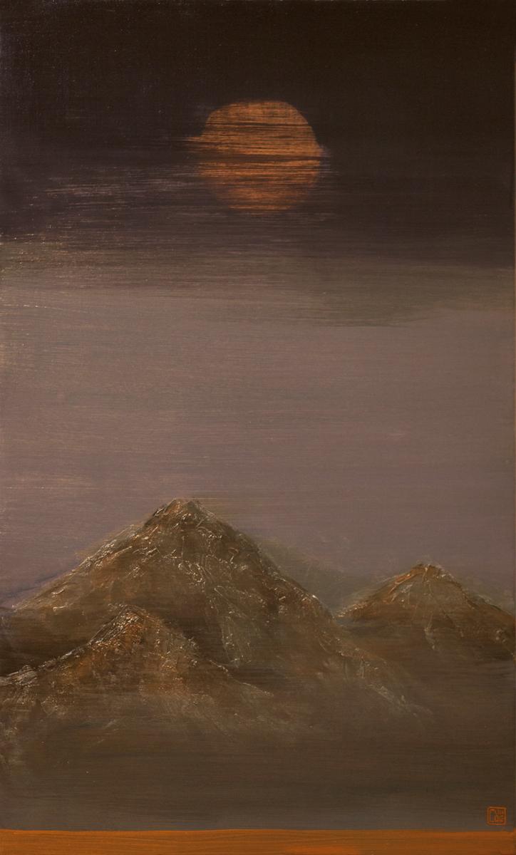 AffinityforART_NGUYEN Tran Cuong_Moon Breeze_ 2014_ Oil on Canvas_100 x 60cm.jpg
