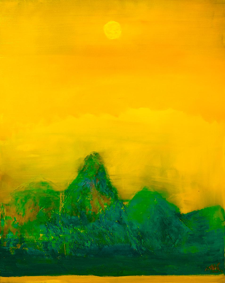 AffinityforART_NGUYEN Tran Cuong_Brilliance_ 2014_ Oil on Canvas_100 x 60cm.jpg