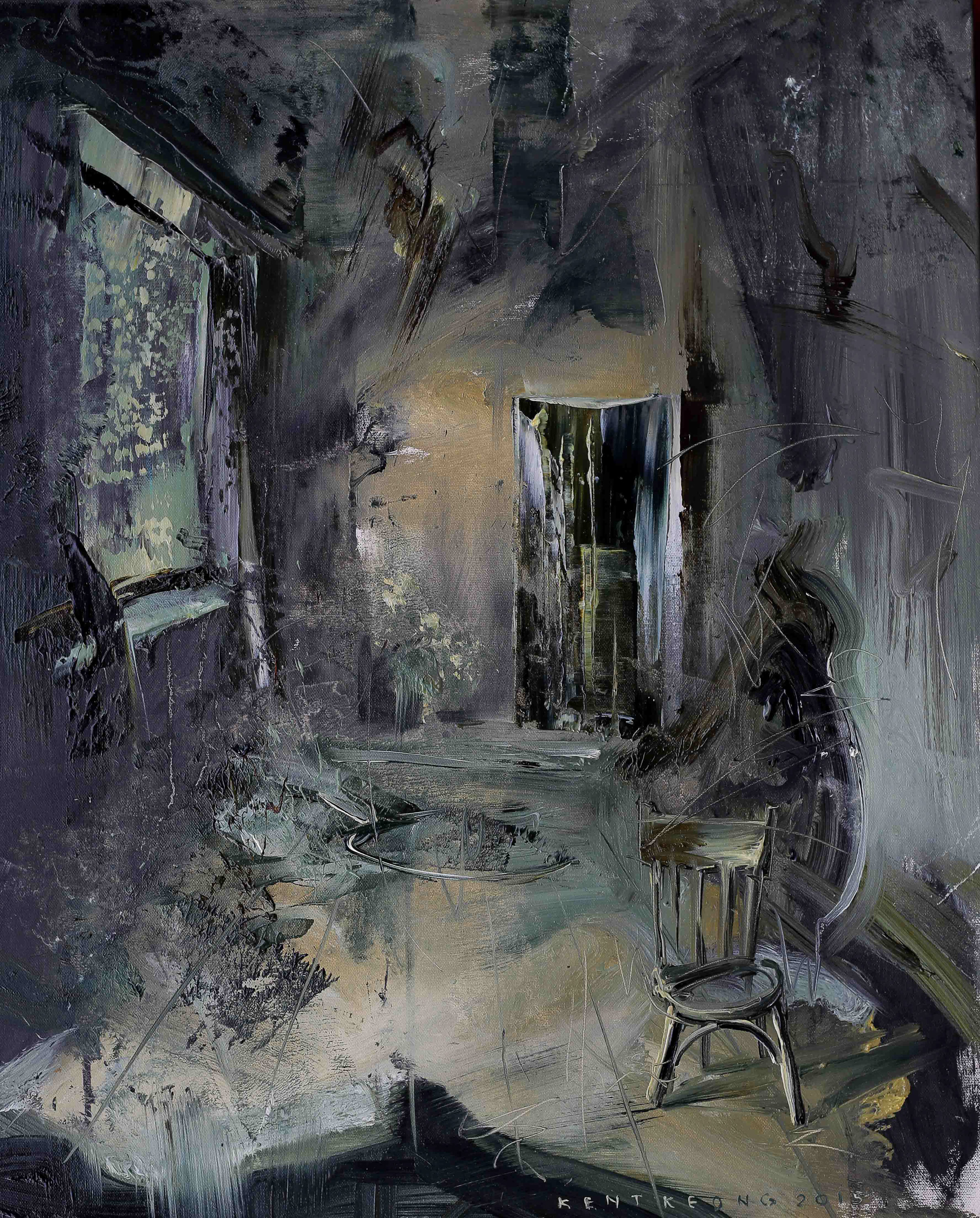 In The Room |房子裏面, 2015, 65 x 53 cm,