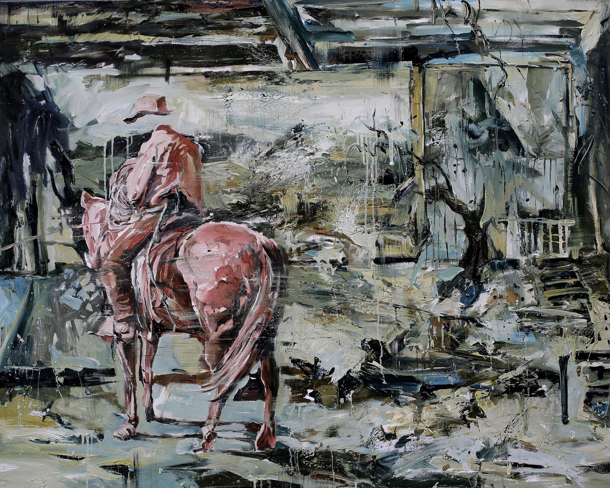 Prairie |草原, 2014, 130 x 162 cm