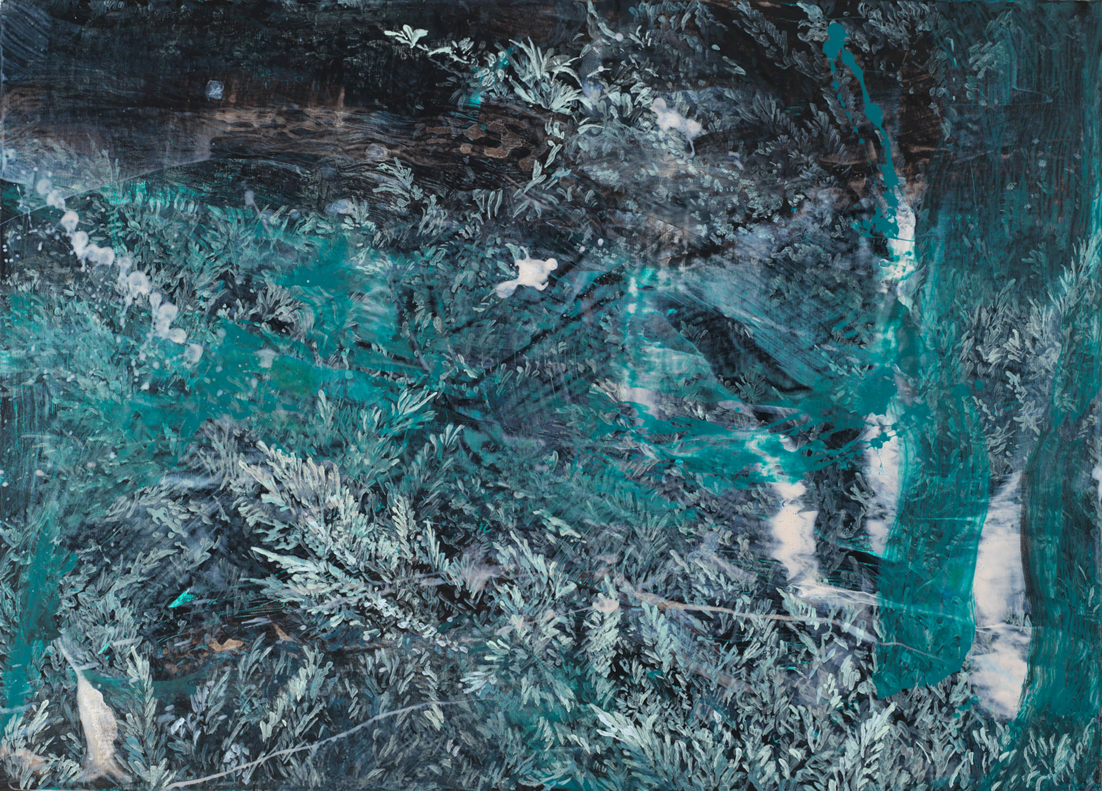 Forest #4 | 森林 #4, 2015, Acrylic on Canvas, 65 x 91 cm, SHIU Sheng Hung | 許聖泓
