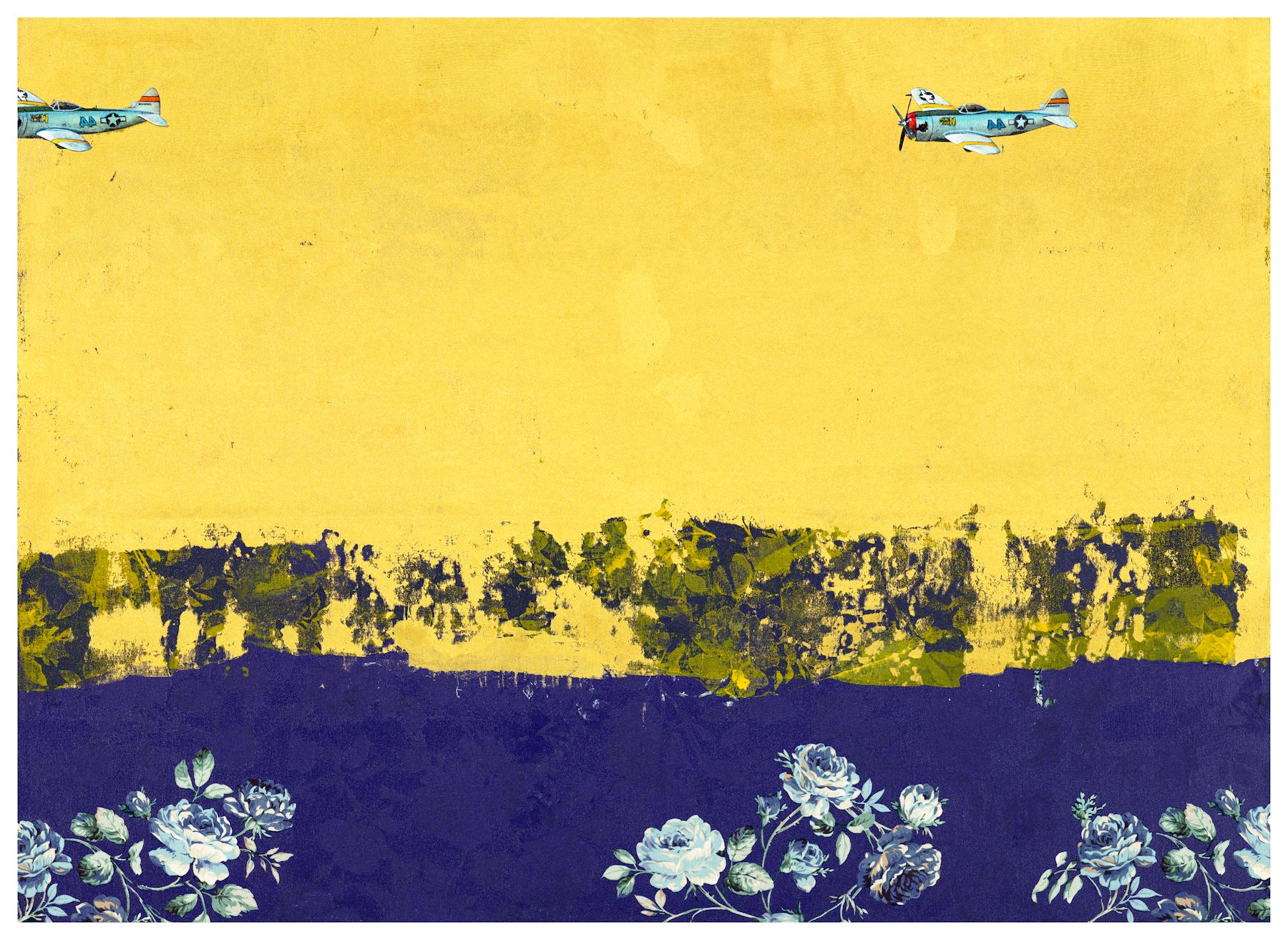 CHI Chien, Indigo River, 2014, Mixed Media, 73 x 100 cm, Affinity for ART.jpg