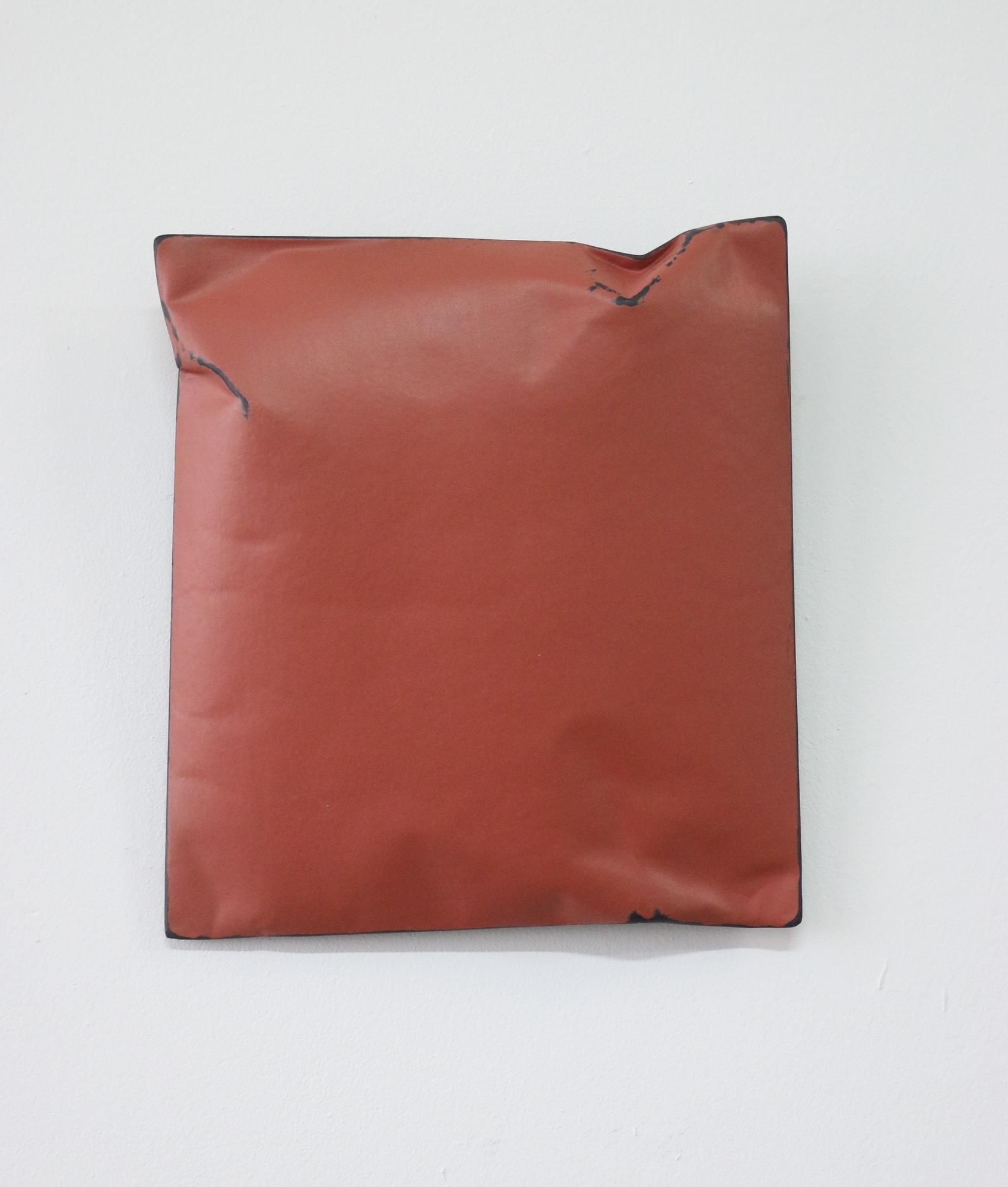 Johan De Wit, Untitled, 2018, Paper, Resin, Marble, Acrylic, 21 x 19 x 4 cm