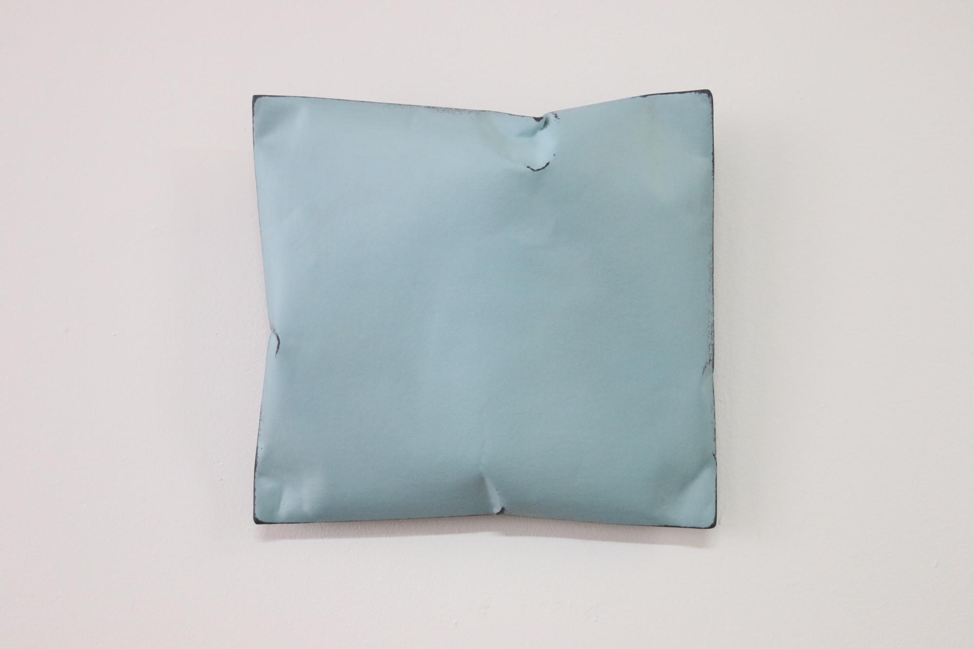 Johan De Wit, Untitled, 2018, Paper, Resin, Marble, Acrylic, 22.5 x 21 x 6 cm, Affinity Art