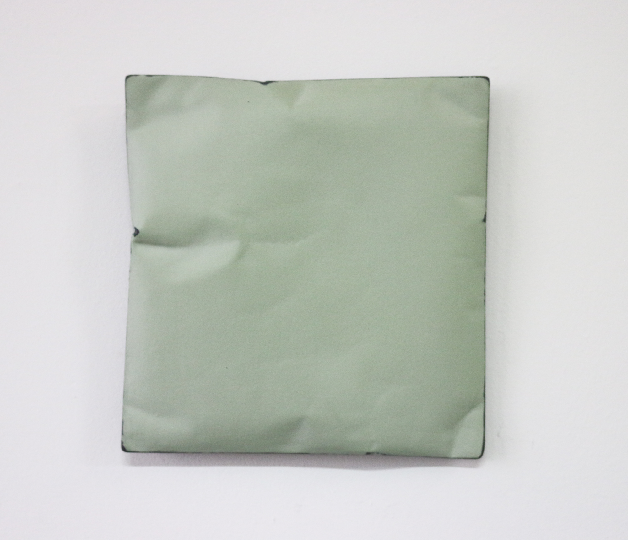 Johan De Wit, Untitled, 2018, Paper, Resin, Marble, Acrylic, 22 x 21 x 4 cm