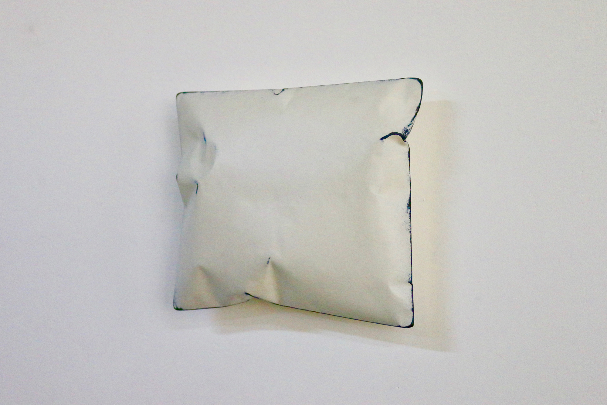 Johan De Wit, Untitled, 2018, Paper, Resin, Marble, Acrylic, 24 x 20 x 6.5, Affinity Art