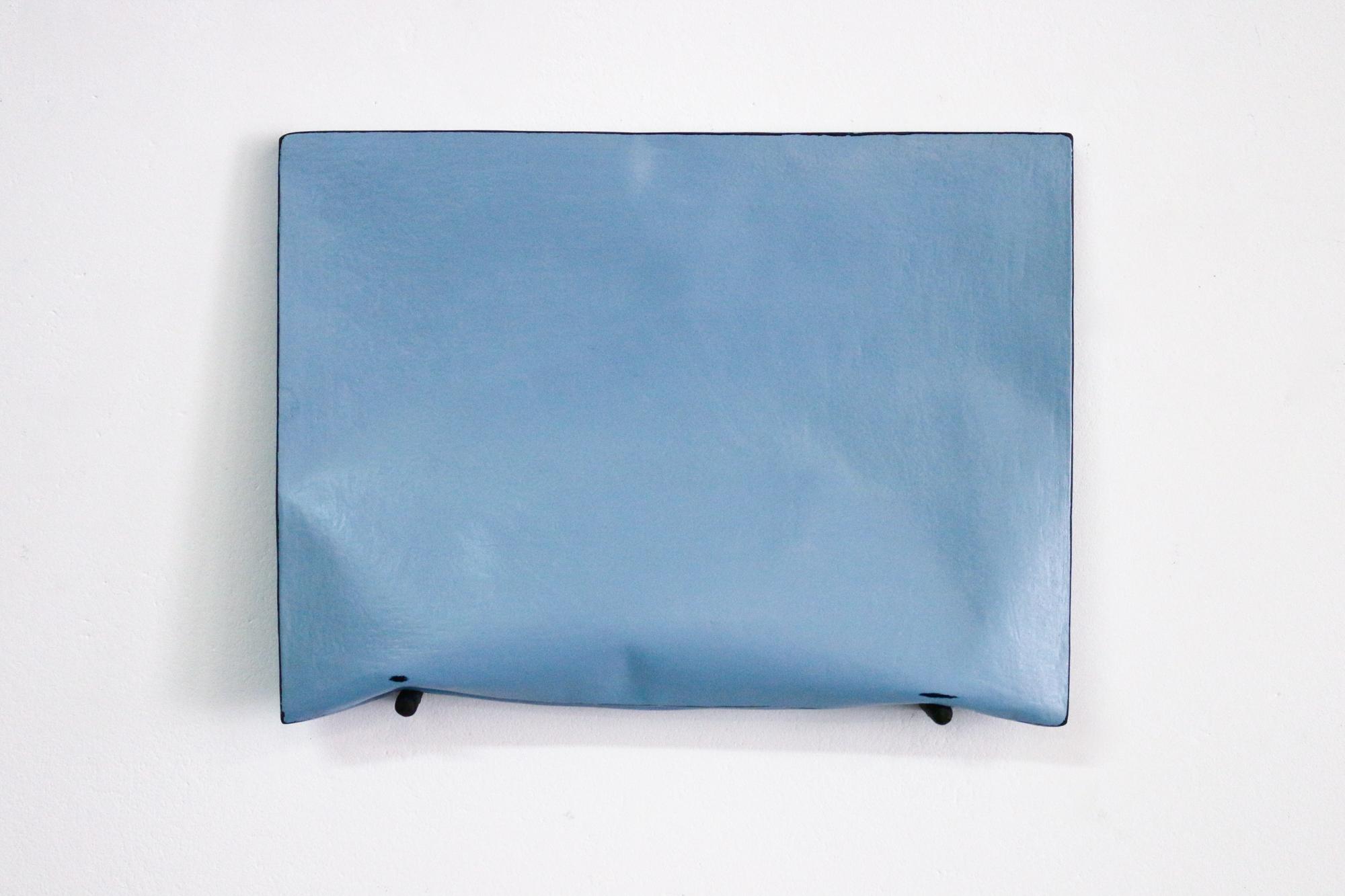 Johan De Wit, Untitled, 2018, Paper, Resin, Marble, Acrylic, 31.5 x 23.5 x 5 cm, Affinity Art