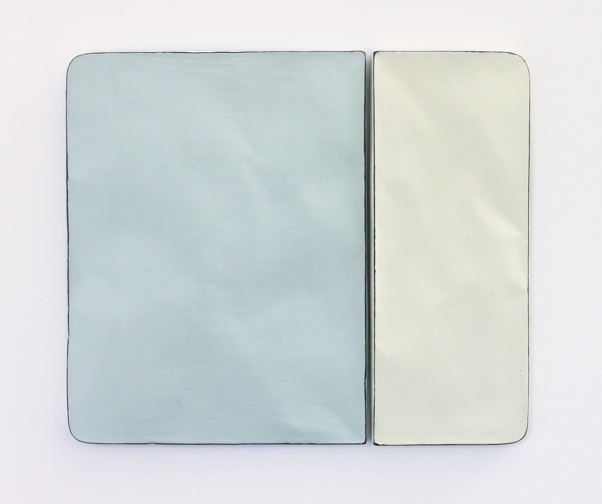 Johan De Wit, Untitled, 2018, Paper, Resin, Marble, Acrylic, 35.5 x 29.7 x 1.5 cm, Affinity Art