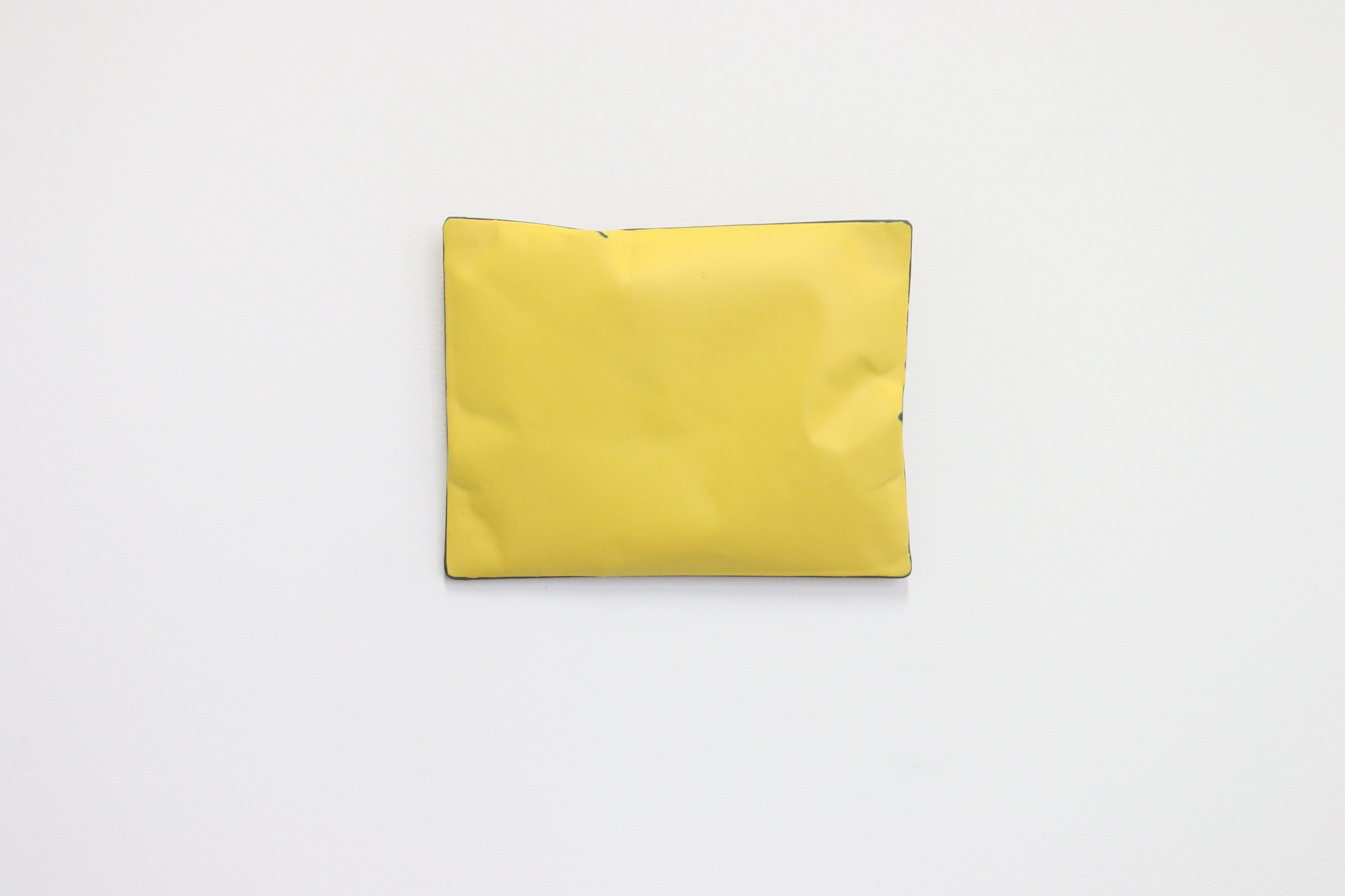 Johan De Wit, Untitled, 2019, Acrylic, Marble, Resin on Paper, 23x18x3.5 cm, Affinity Art.jpg