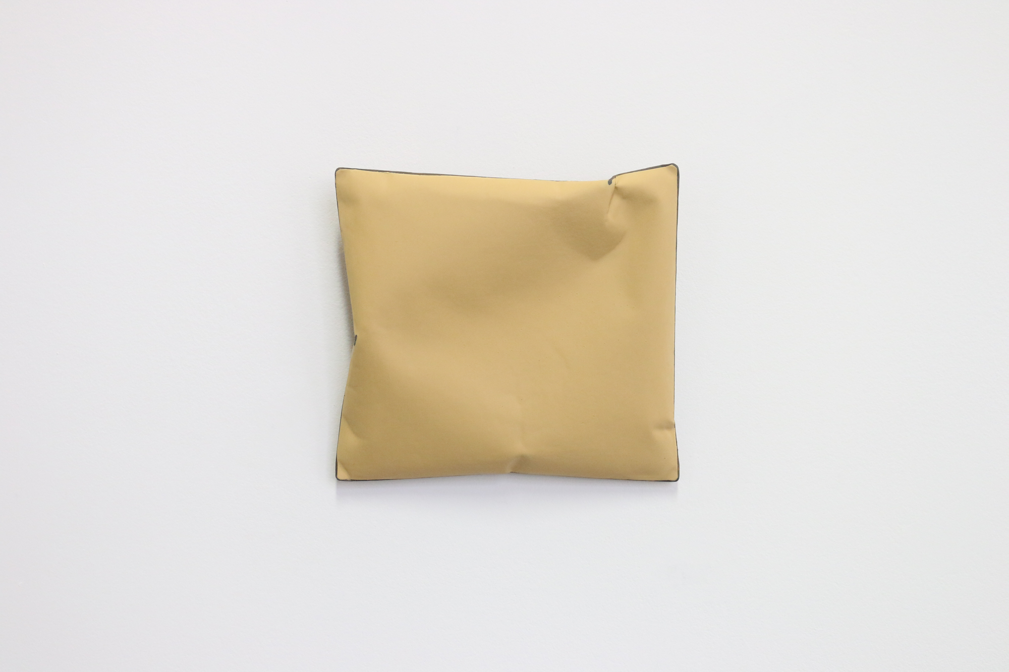 Johan De Wit, Untitled, 2019, Acrylic, Marble, Resin on Paper, 23x21x6 cm, Affinity Art.jpg