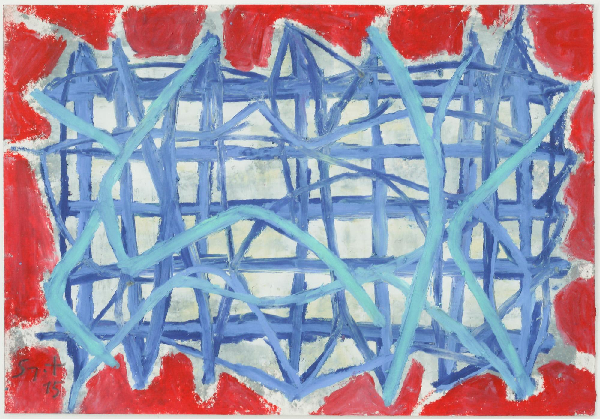 Somyot Hananuntasuk, 2015_22, 2015, Oil Pastel on Paper, 18 x 26 cm, Affinity Art.jpg