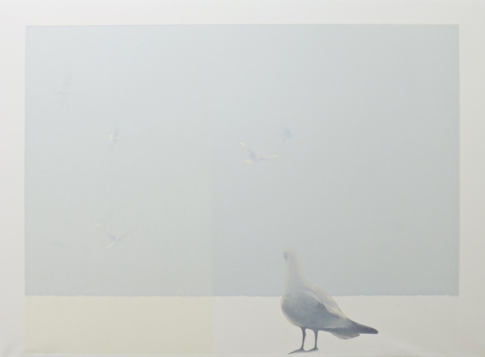 PIANGCHOOMPU Praween, Middle Of Nowhere #2, 2018, Woodcut Print on Paper, 60 x 80 cm, Affinity Art.jpg