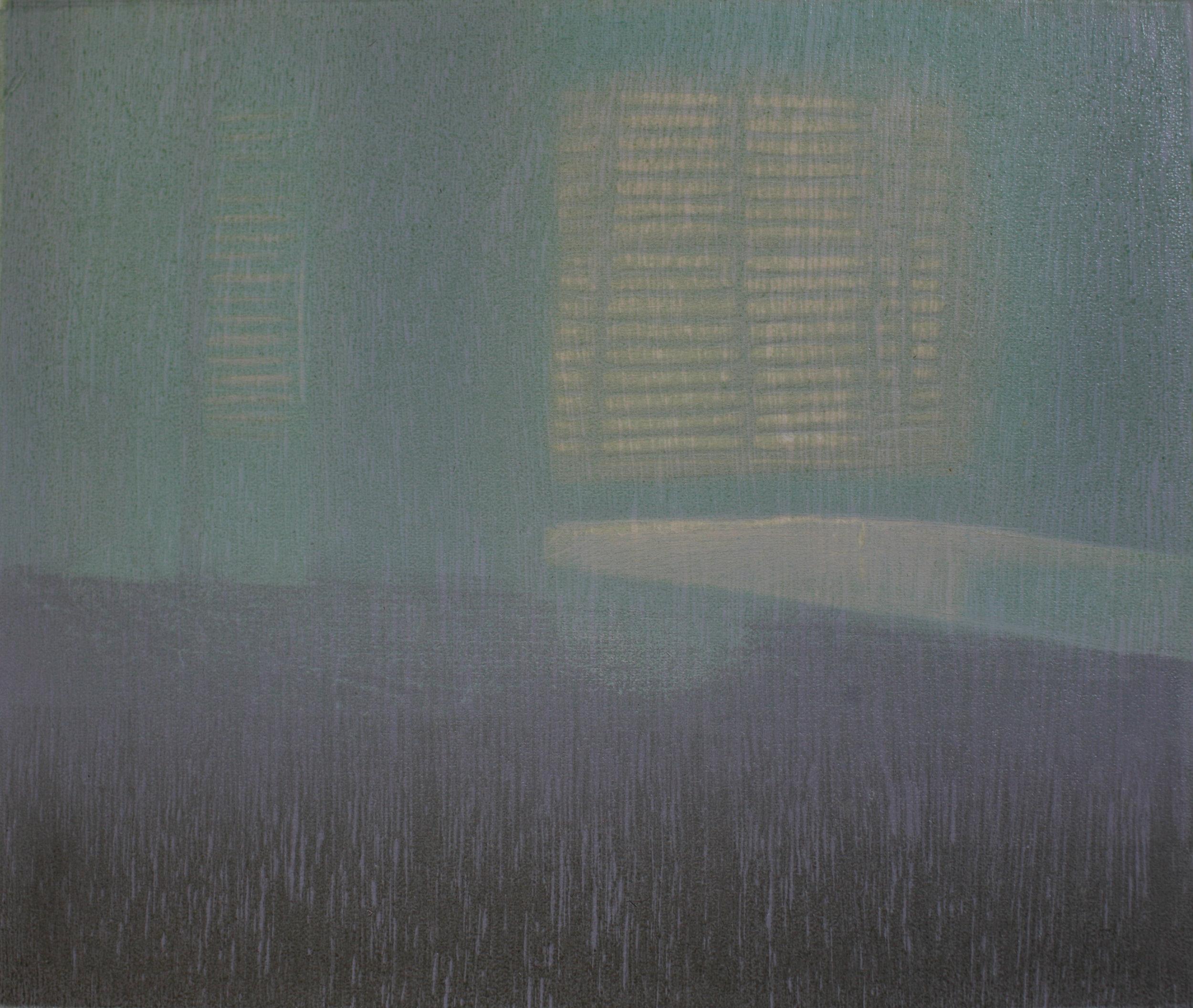 Praween PIANGCHOOMPU, Serenity #2,2018, Woodcut on Paper, 8 of 8, 17 x 21 cm