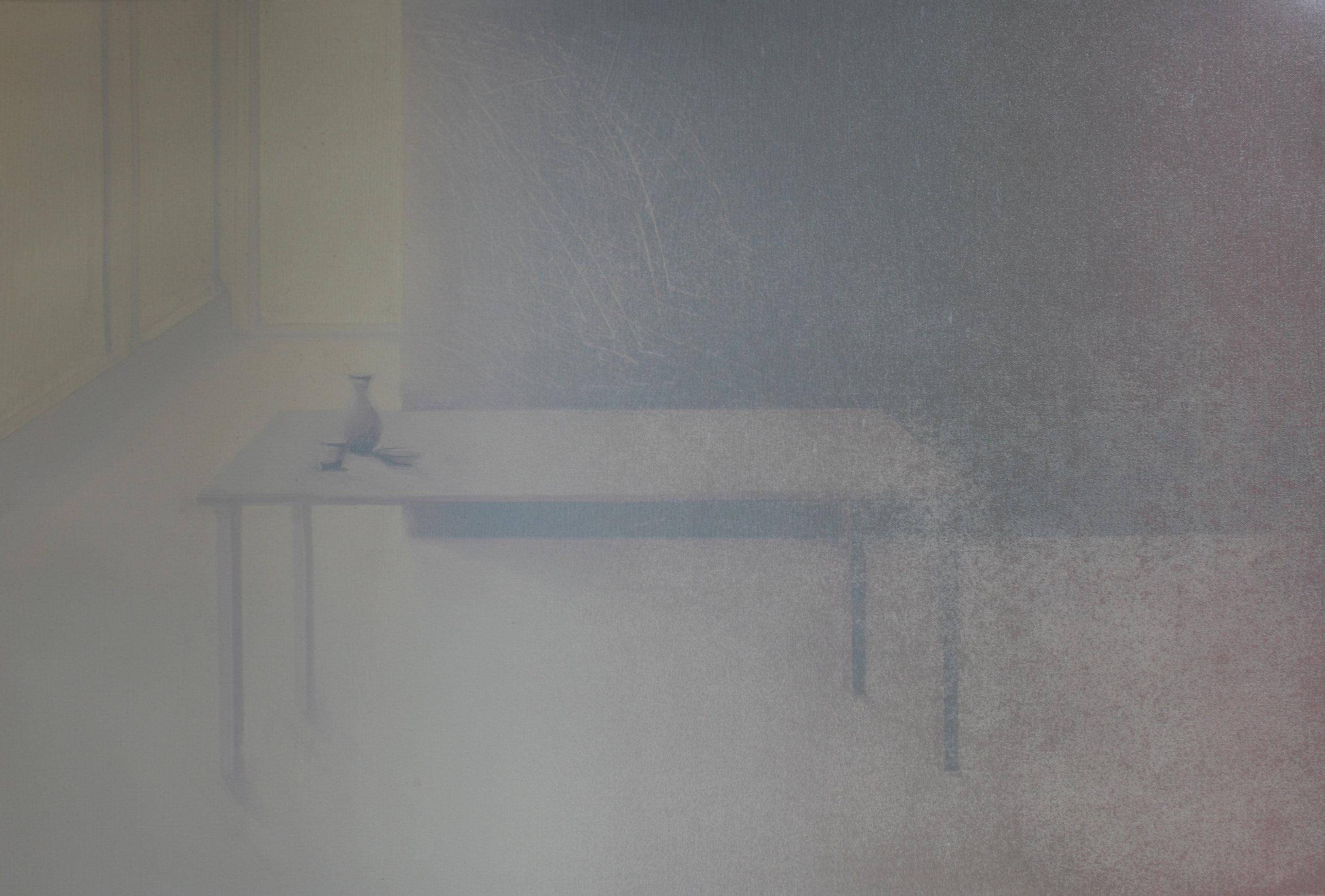 Praween PIANGCHOOMPU, Sanctuary Inside The Soul #33, 2018, Woodcut on Paper, 1 of 4, 57 x 60 cm