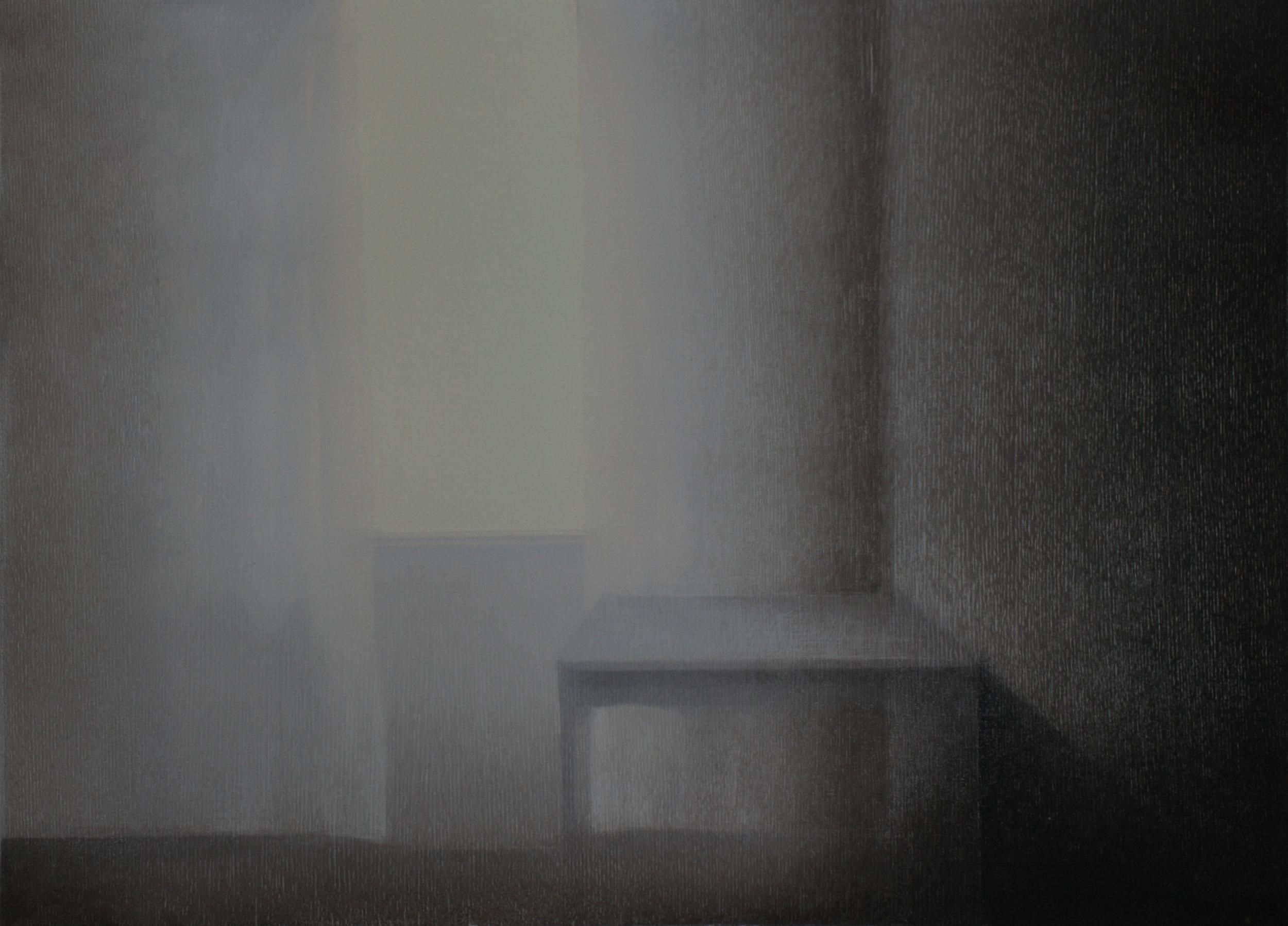 Praween PIANGCHOOMPU, Sanctuary Inside The Soul #32, 2018, Woodcut on Paper, 2 of 8, 42 x 60 cm