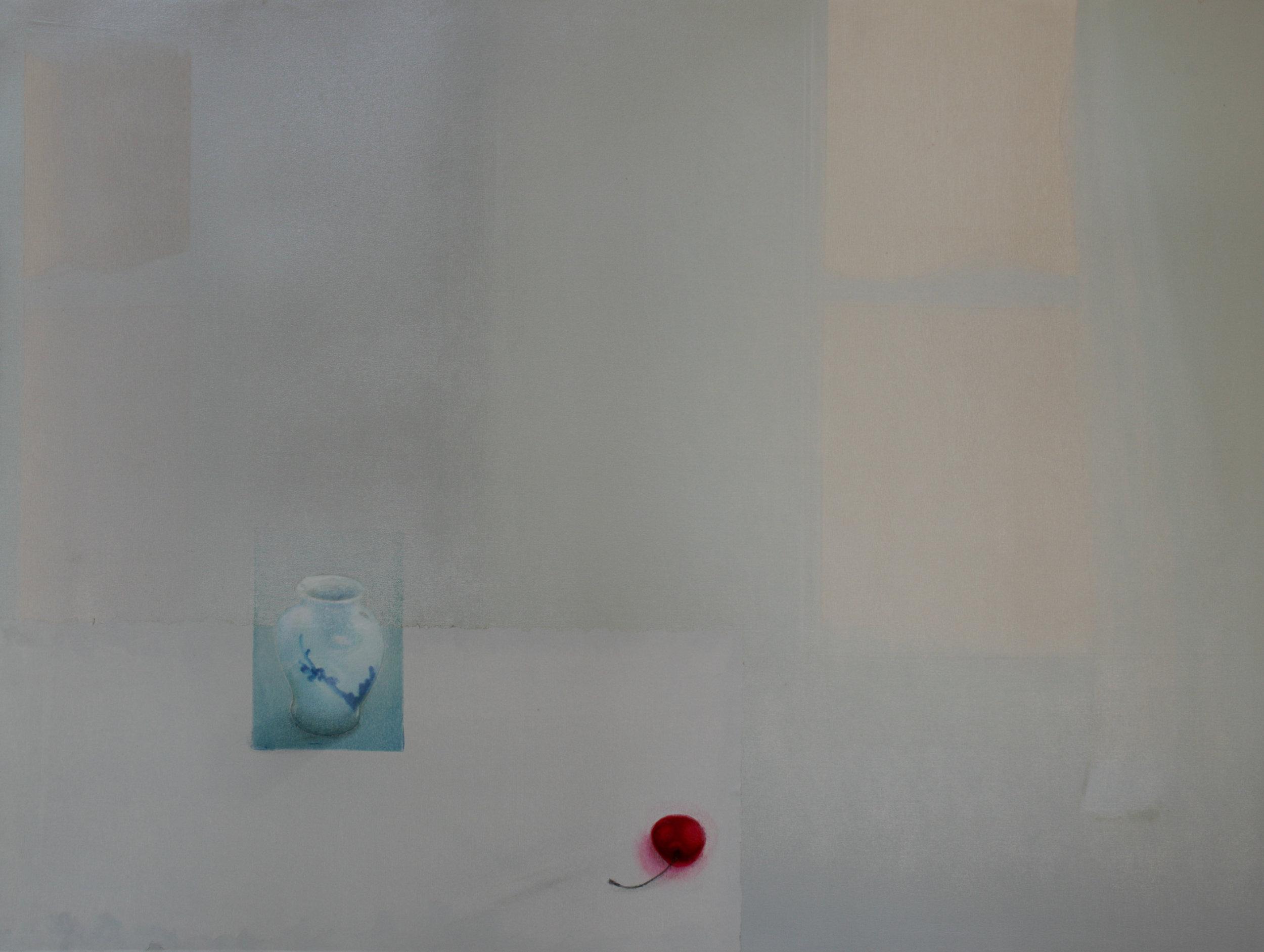 Praween PIANGCHOOMPU, Sanctuary Inside The Soul #23, 2017, Woodcut on Paper, 6 of 6, 60.5 x 81 cm