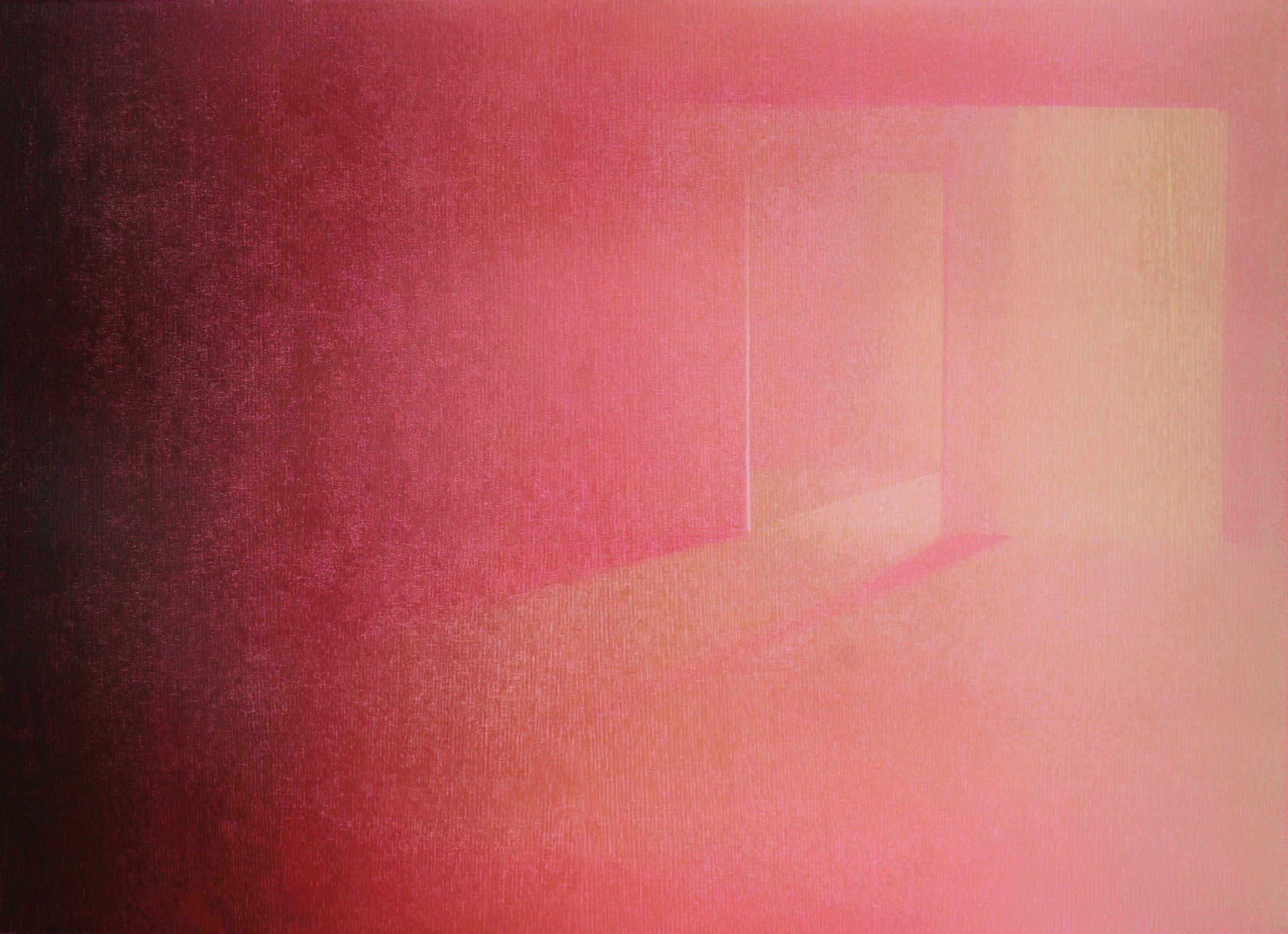 Praween PIANGCHOOMPU, Equilibrium #10, 2019, Woodcut on Paper, 1 of 5, 42 x 60 cm