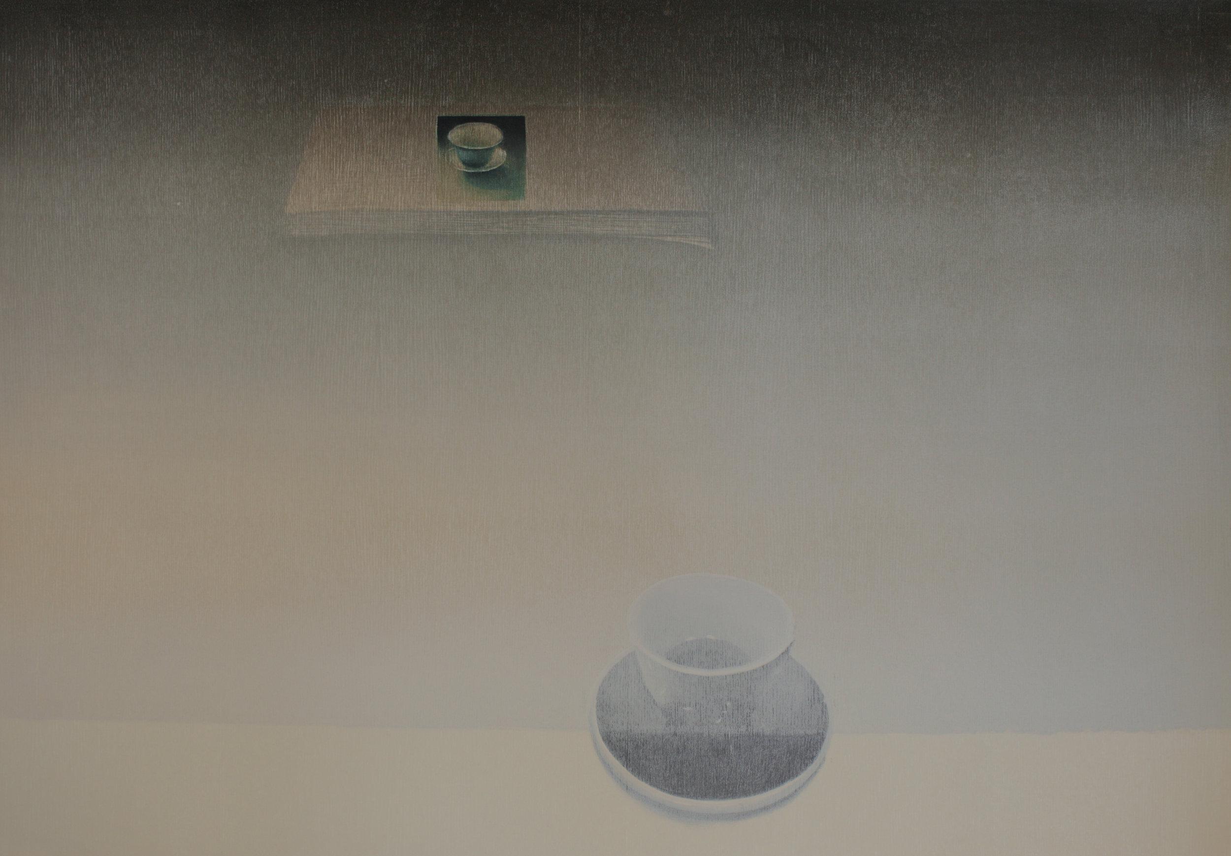 Praween PIANGCHOOMPU, Equilibrium #7, 2019, Woodcut on Paper, 1 of 5, 60 x 85 cm