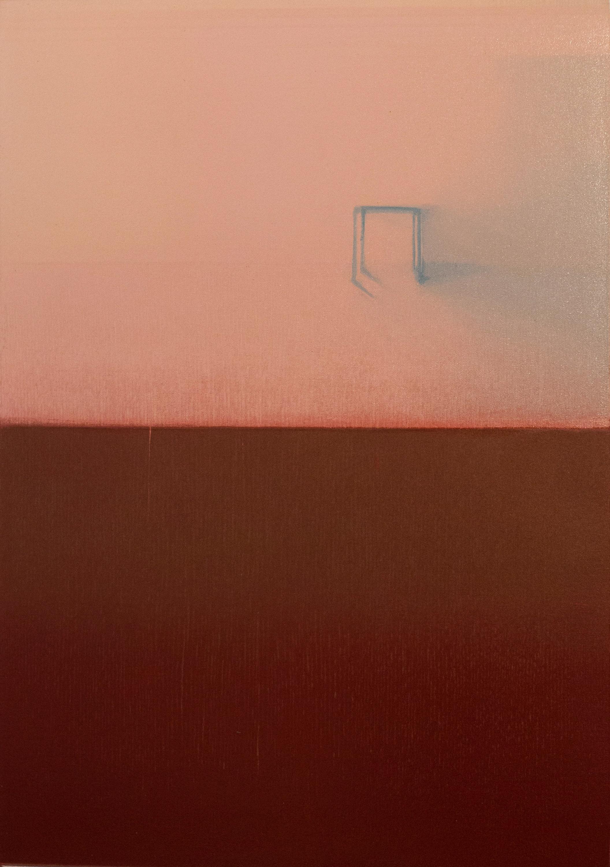 PIANGCHOOMPU Praween, Equilibrium #1a, 2019, Woodcut Print on Paper, 42 x 30 cm