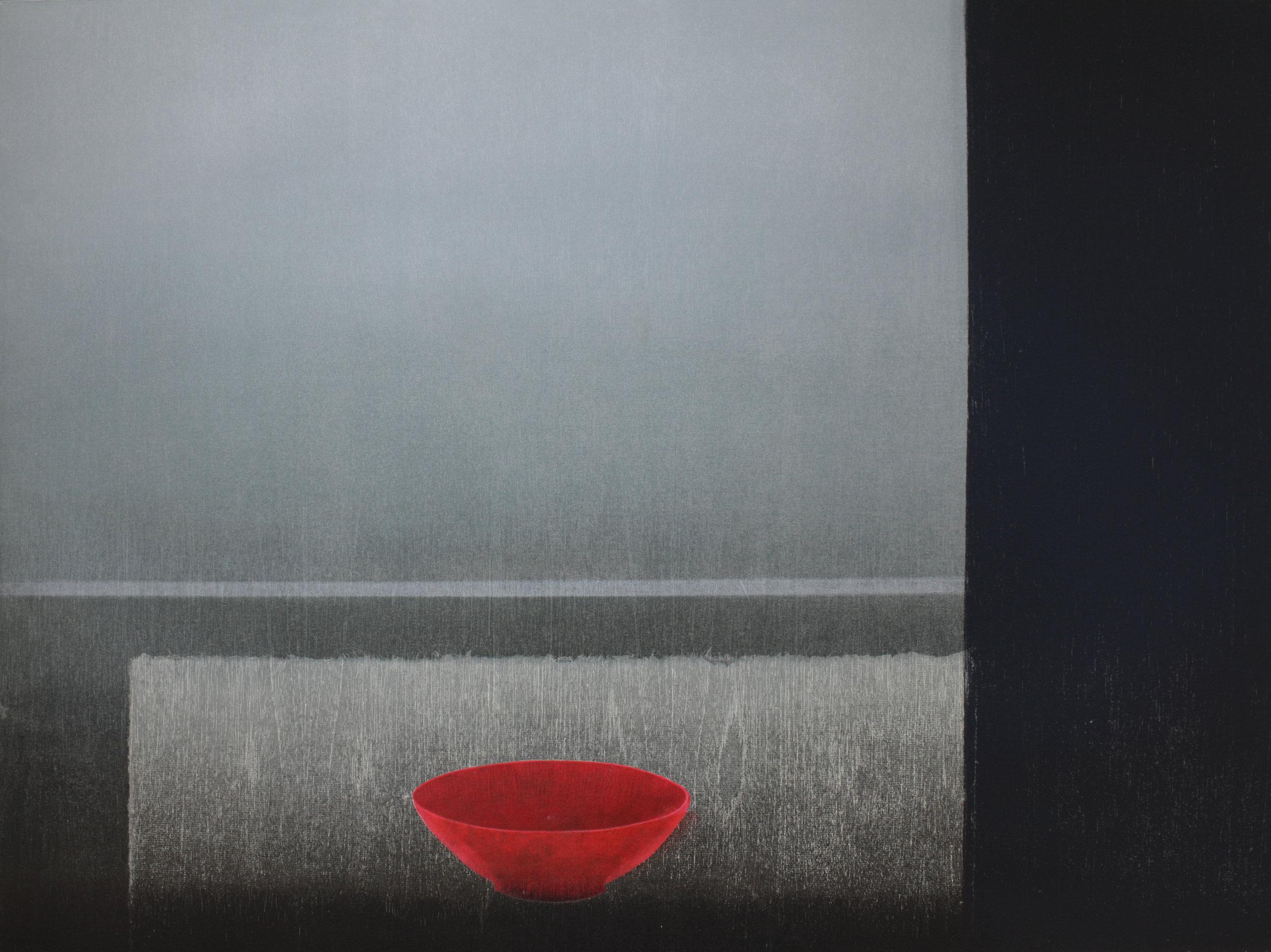 Praween PIANGCHOOMPU, Sanctuary Inside The Soul #26, 2017, Woodcut on Paper, 5 of 8, 60.5 x 80.5 cm, Affinity Art.jpg
