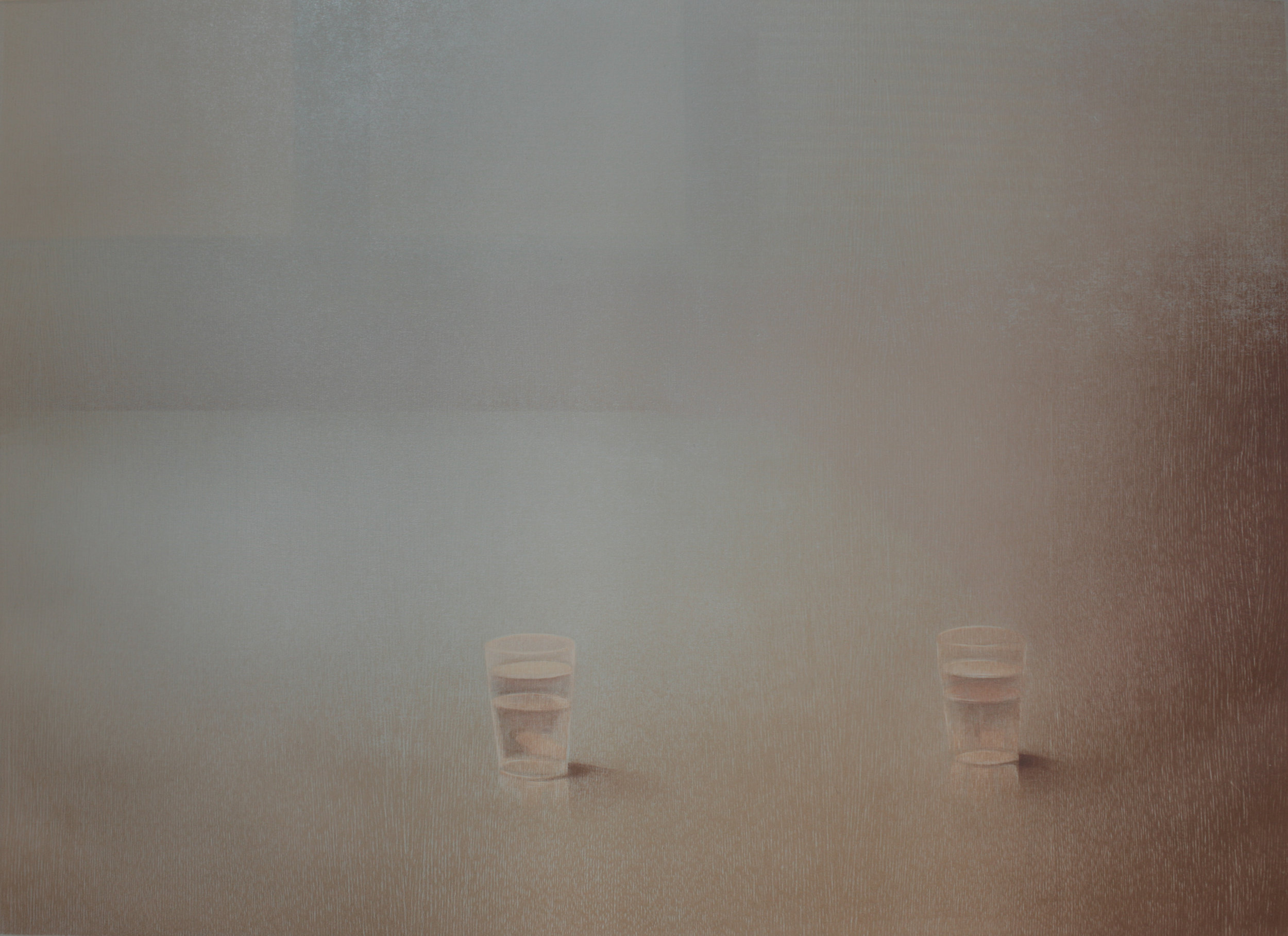 Praween PIANGCHOOMPU, Sanctuary Inside The Soul #29, 2018, Woodcut on Paper, 2 of 5, 59 x 84 cm, Affinity Art-Edit.jpg