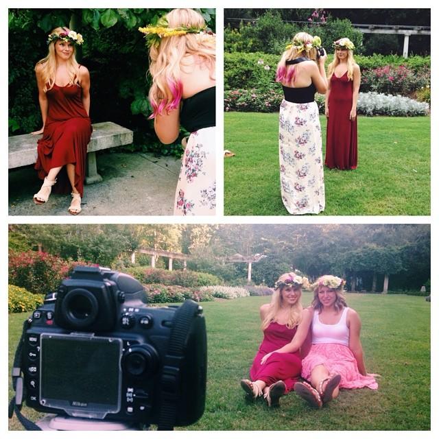 Some behind the scenes shots [IG: @ashleywhitephoto ]