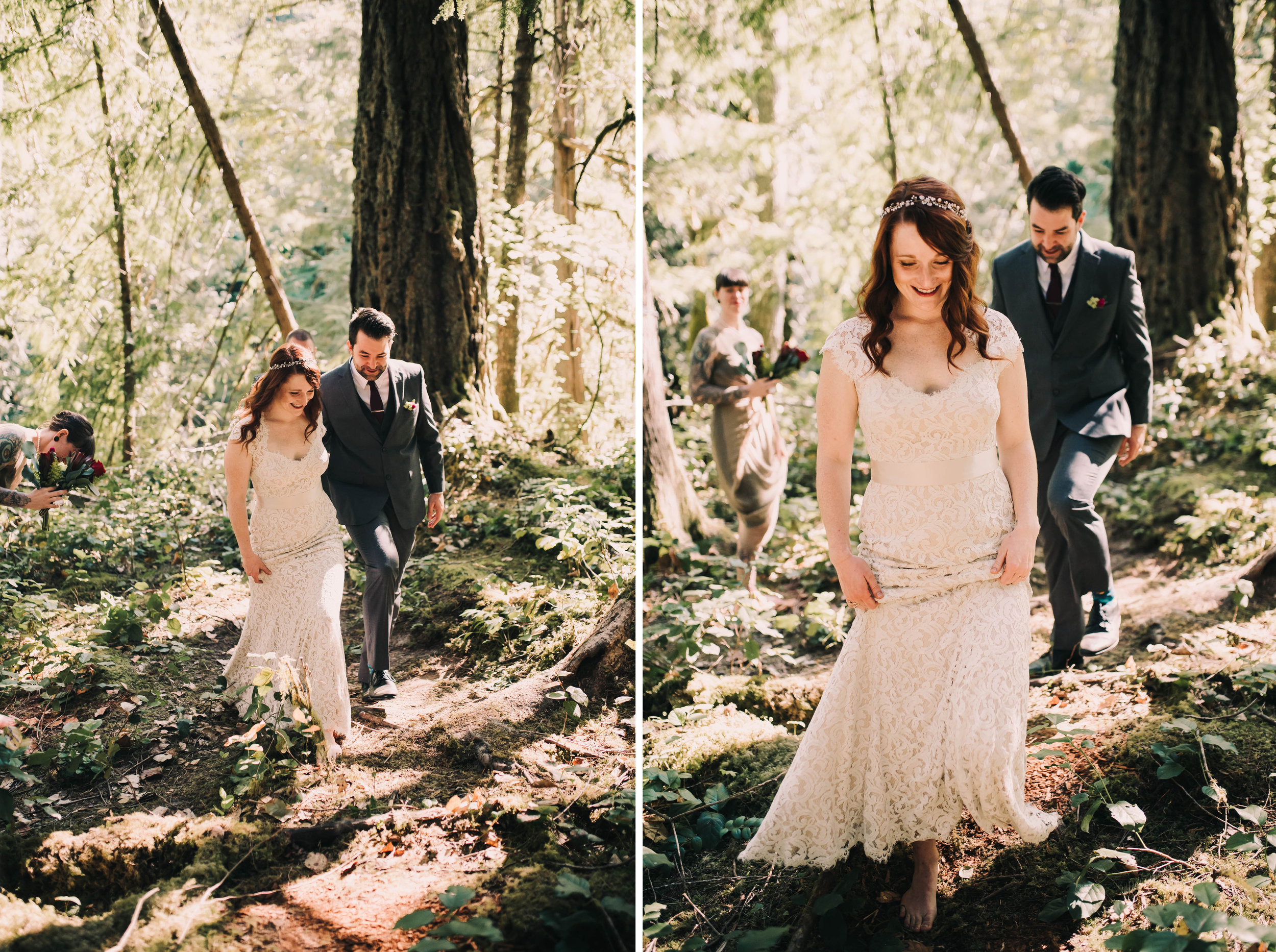 washington forest elopement photographer bride and groom happy lookslikefilm.jpg