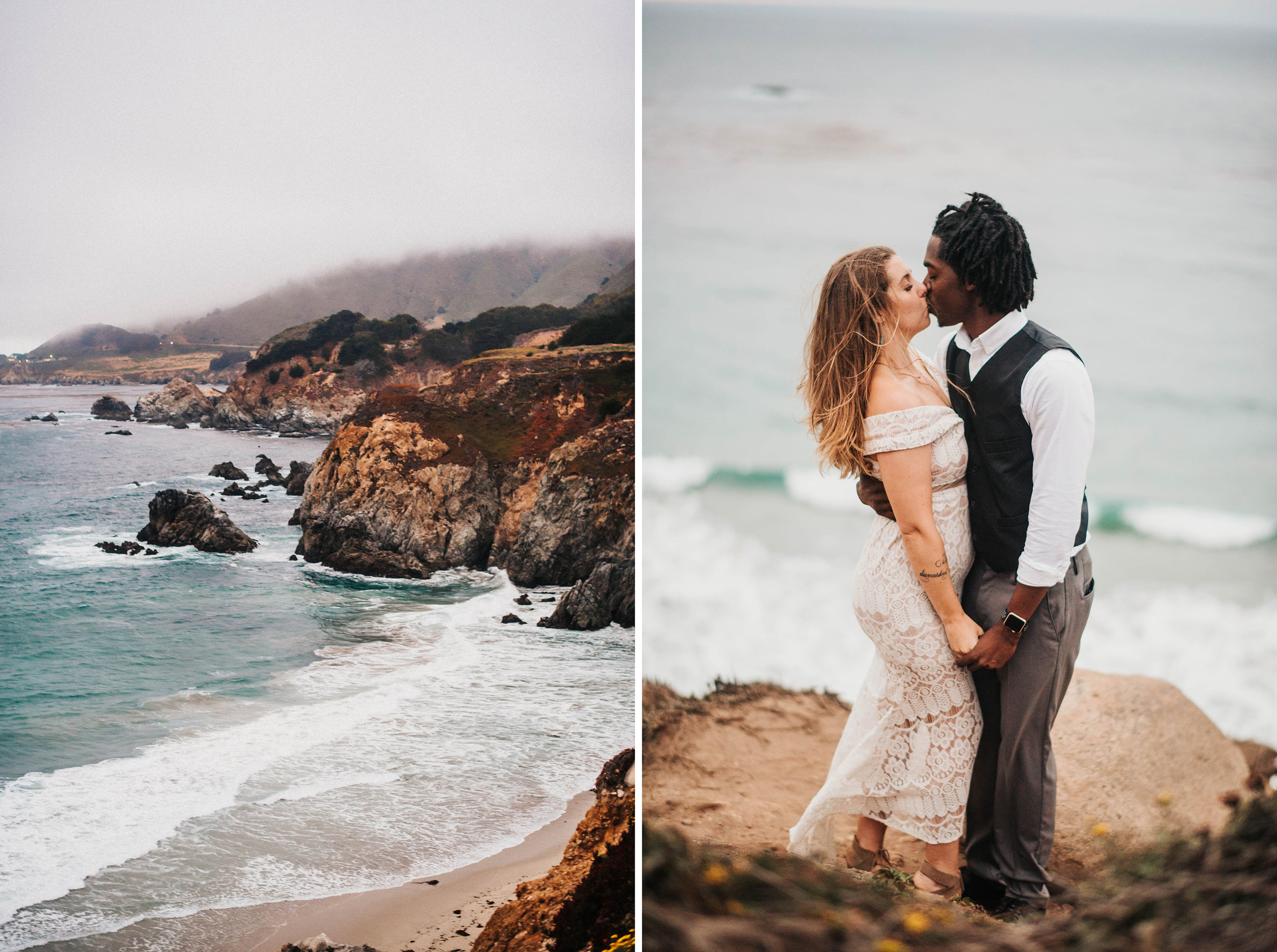 atlanta georgia big sur san francisco california bay area sf oakland wedding portrait adventure engageement nontraditional tattooed couple photographer-236.jpg
