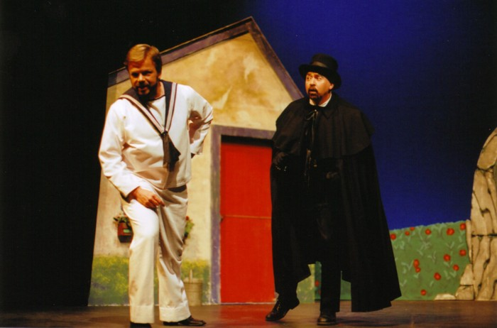Kerry Stover (Richard Dauntless)    Rod Culham (Sir Despard Murgatroyd)