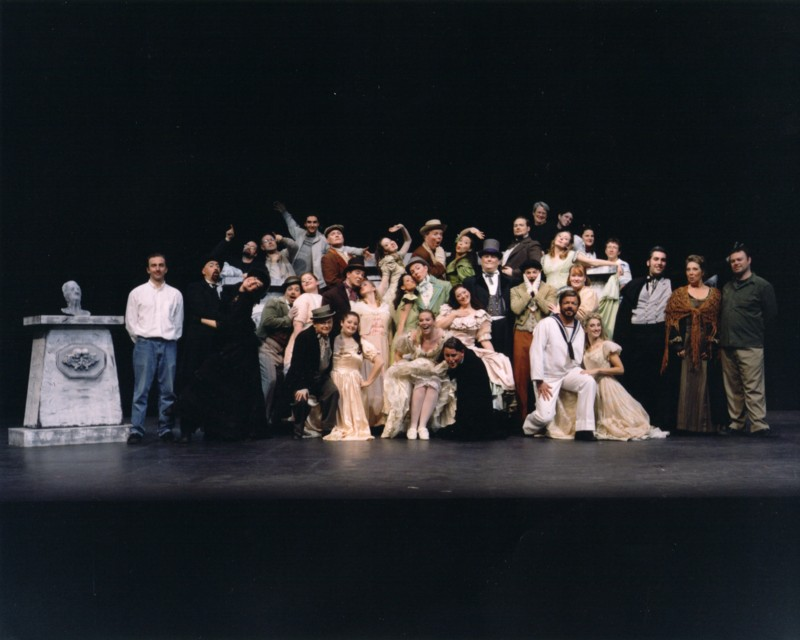 The Cast and Crew of Ruddigore