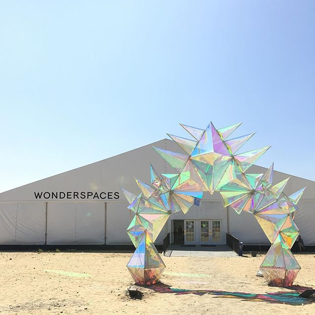 If you're in San Diego, they'll be around for the rest of the month #worthit @wonderspaces
