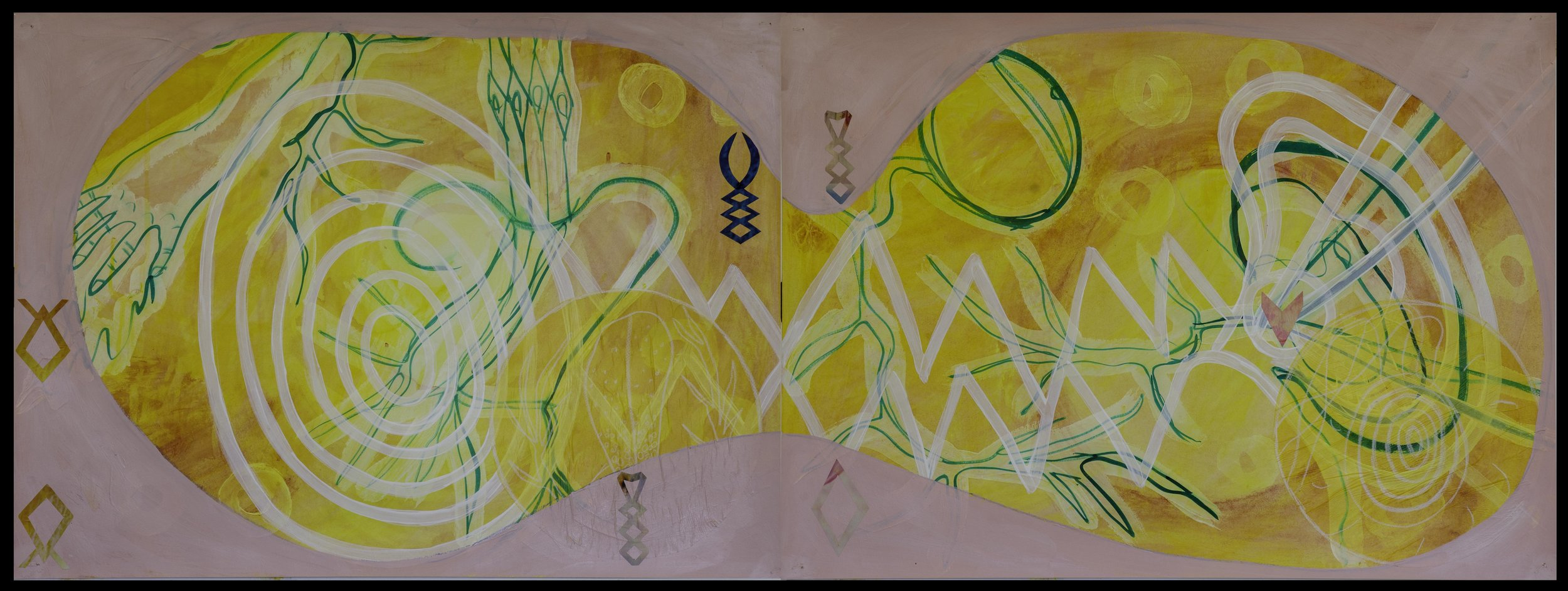 Can You Hear My Vibration (Diptych)