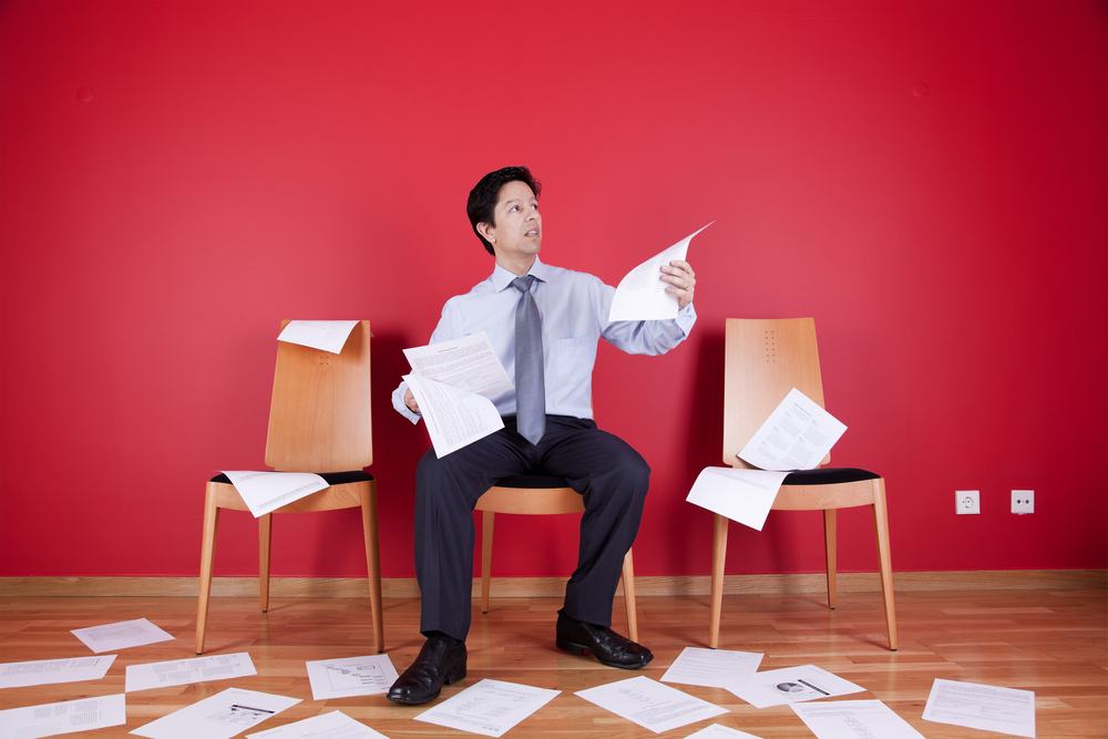 Too much paperwork - We have solutions