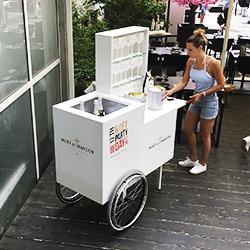 Barvagn Inklusive foliering med logos 5000:-