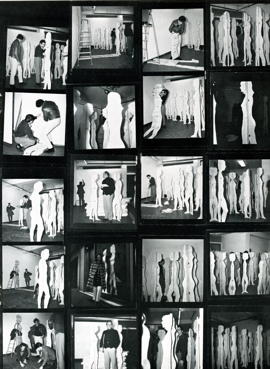 Mario Ceroli - 1968 -Aria di daria - GALLERIA DE'FOSCHERARI 3.jpg