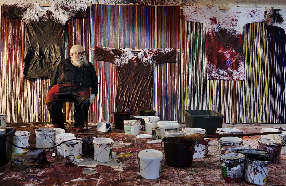 Hermann Nitsch Galleria de foscherari .jpg