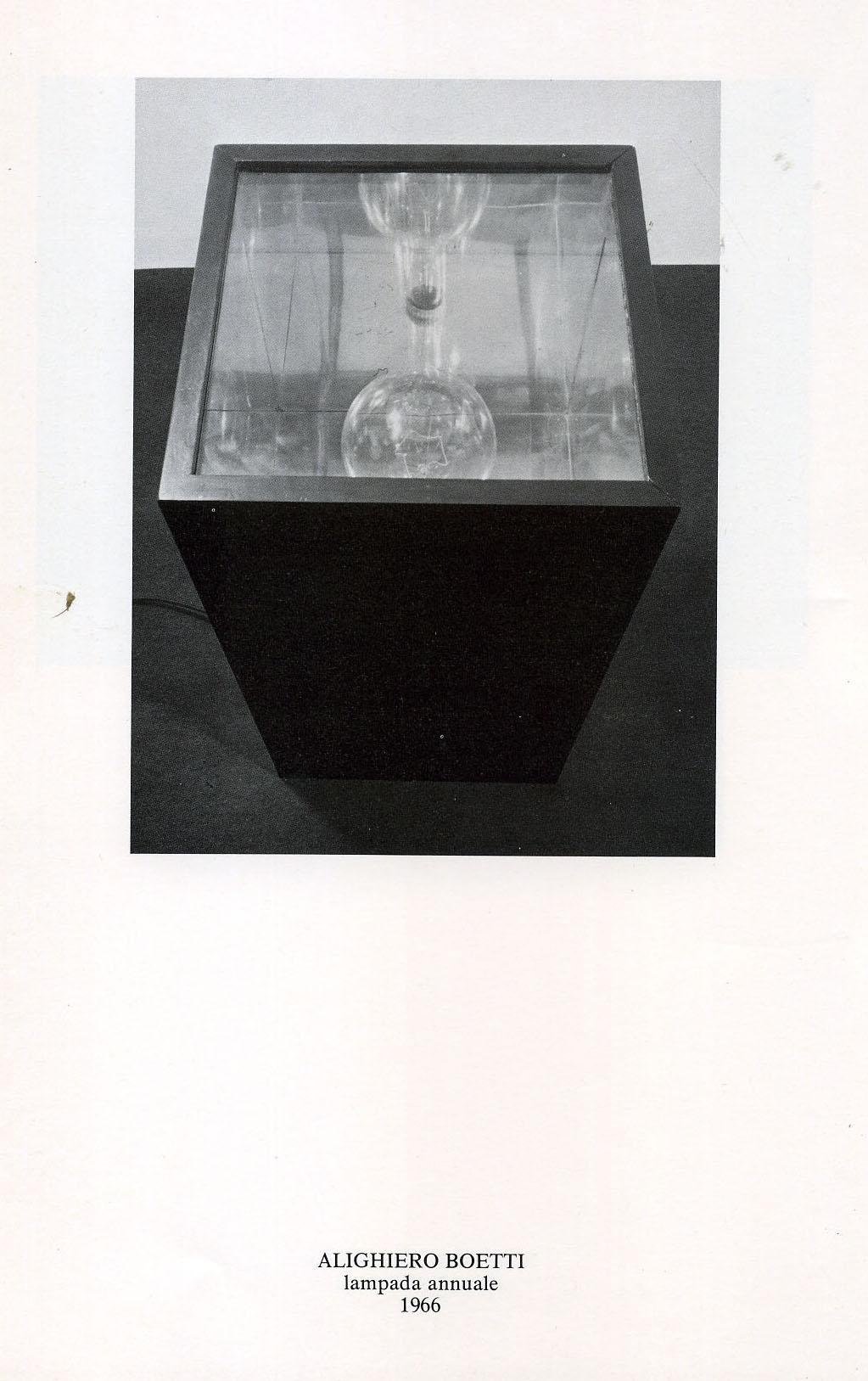 Le figure del tempo  - Boetti - Galleria de'Foscherari .jpg