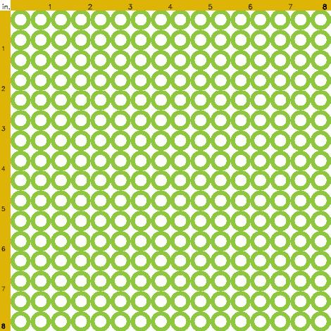 Green Mod Circle Dot
