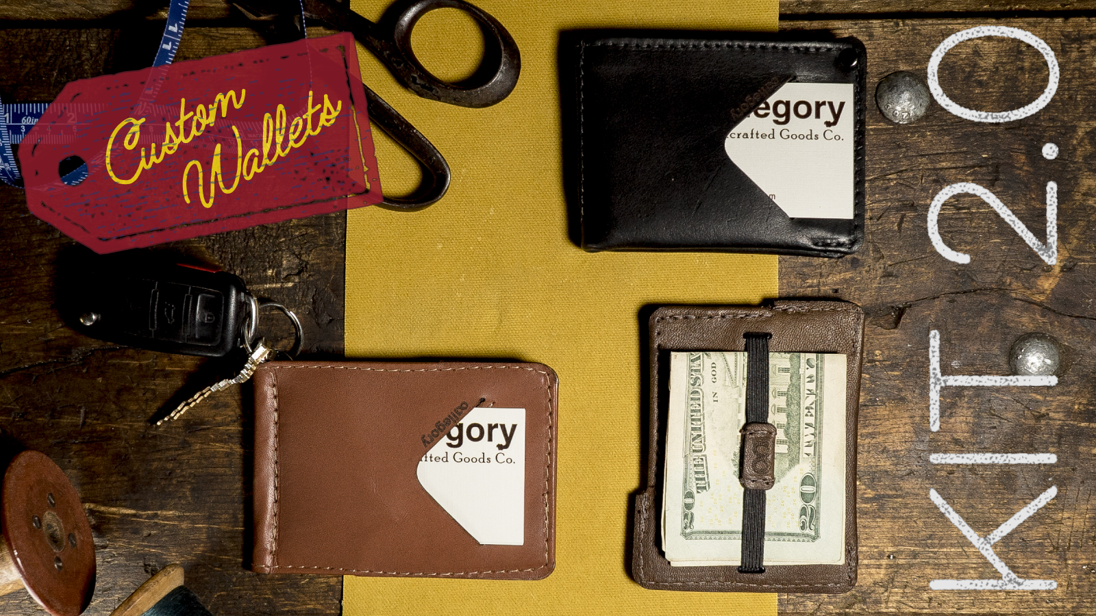 The Kit - Completely Custom Wallets