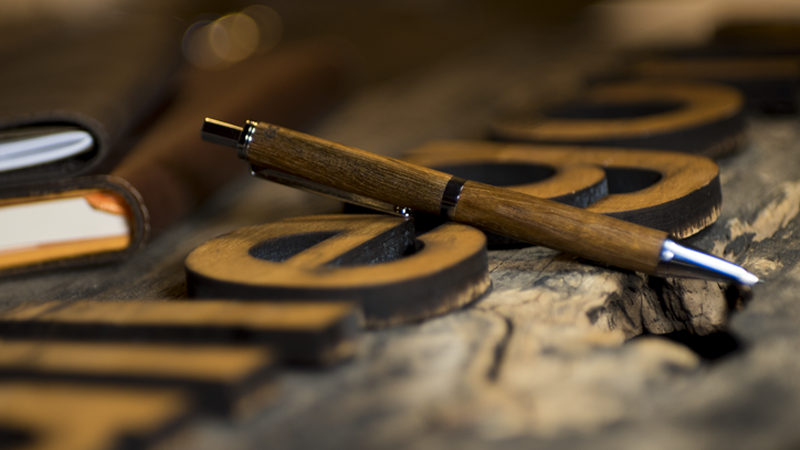 Workhorse Collection - Pens crafted from woods with amazing stories.