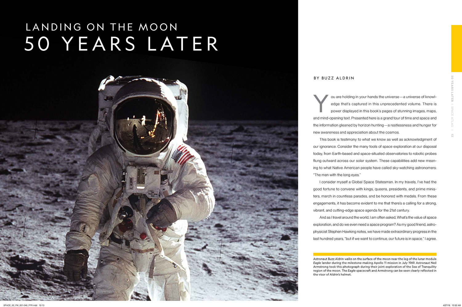 Space Atlas, 2nd edition (National Geographic) — Print